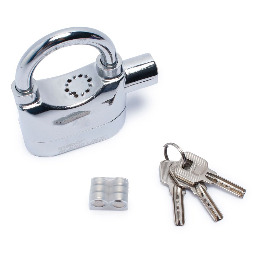 Ổ khóa báo động chống trộm AL ARM LOCK 110dba (Trắng)