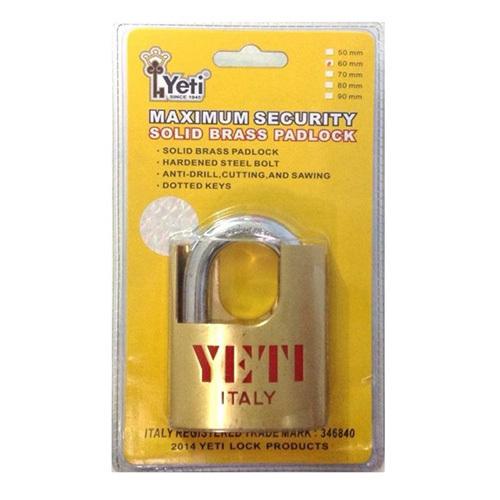 Ổ khóa chống cắt Yeti TA019 (Vàng)