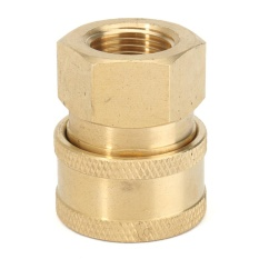 Pressure Washer 3/8 Female (NPT) Brass Quick Connect Coupler - intl