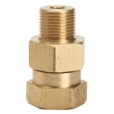 Pressure Washer Swivels Brass Hose Coupling 3/8M 3/8F - intl
