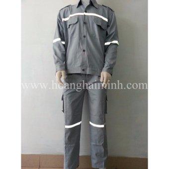 Quần áo bảo hộ vải Cotton (Xám)