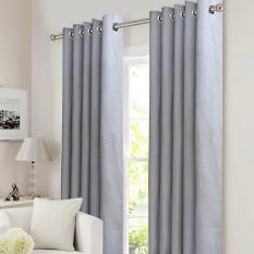 So Sánh Giá Rèm cửa đơn khoen Miss Curtain 135x220cm (NG094-Gray)   MISS_CURTAIN