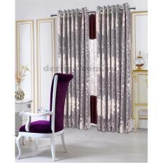 Giá Rèm cửa đơn khoen Miss Curtain 250x300cm (521-Violet)   MISS_CURTAIN