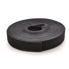 Self Attaching Velcro Hook Loop Tape Fastener Black - intl