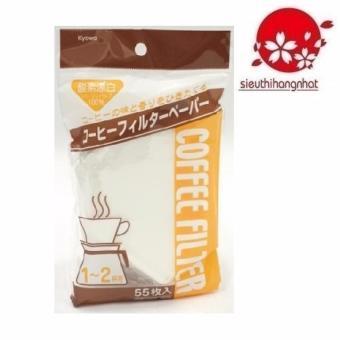 Set 55 túi giấy lọc cà phê Kyowa ( Nhật )