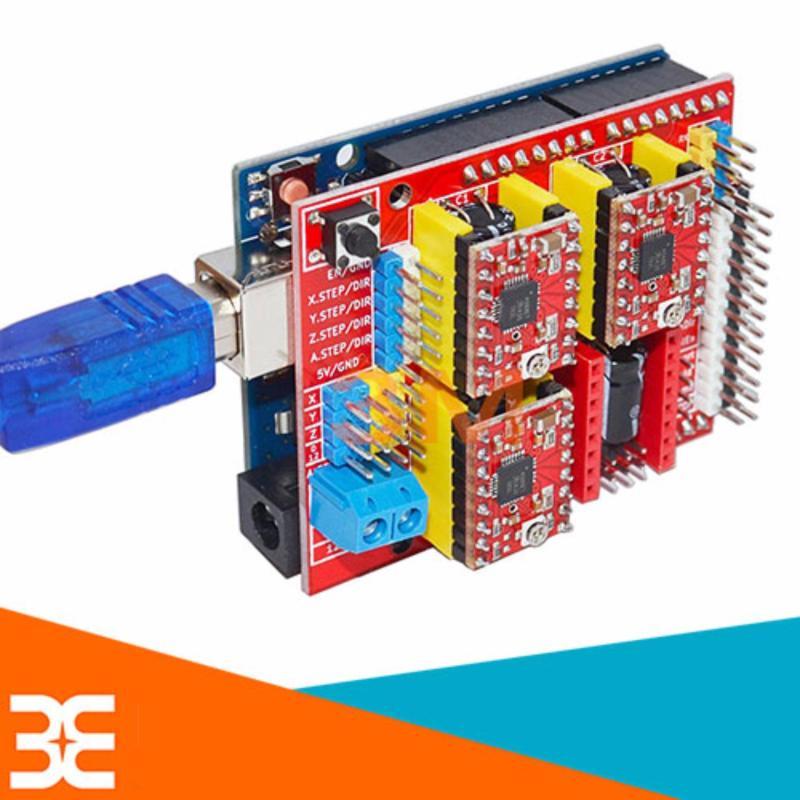 Bảng giá Shiel Arduino UNO R3 - Điều Khiển Máy IN 3D A4988