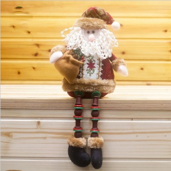 Sitting Christmas Decoration Santa Claus - intl