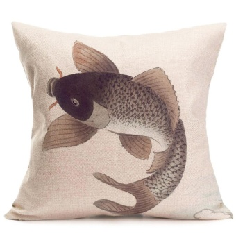Sofa Bed Home Decoration Festival Pillow Case Cushion Cover - intl
