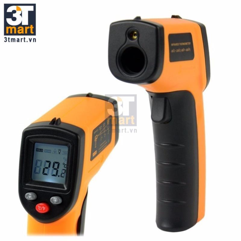 Súng đo nhiệt từ xa laser GM320 (vàng đen)