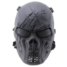 Tactical Gear Airsoft paintball Cosplay Full Face Protection Skull Mask - intl