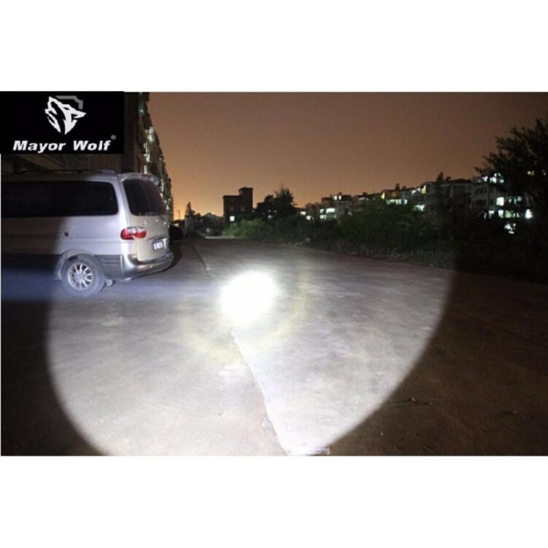 Tải Đèn Led - Đèn pin siêu sáng cree Q5, đèn led nhập khẩu từ Mĩ, không thấm nước, pin cực lâu, chất lượng cao, bảo hành uy tín, 1 đổi 1
