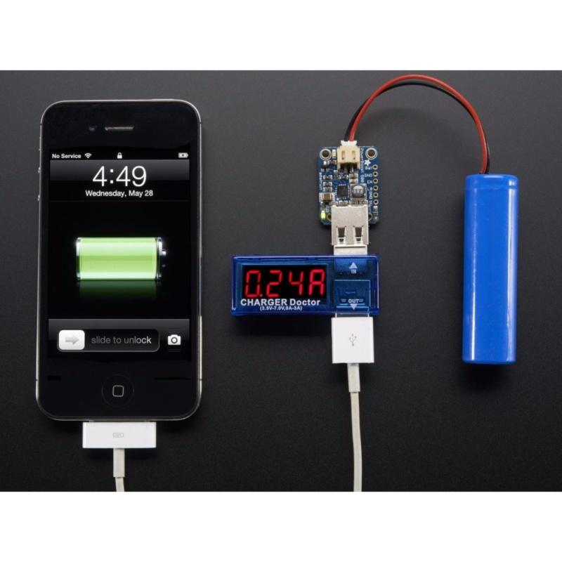 Bảng giá Mua Test Điện Thoại, Sạc Dự Phòng Bằng USB Đo Dòng - Đo Áp V1 3.5V-7V 3A