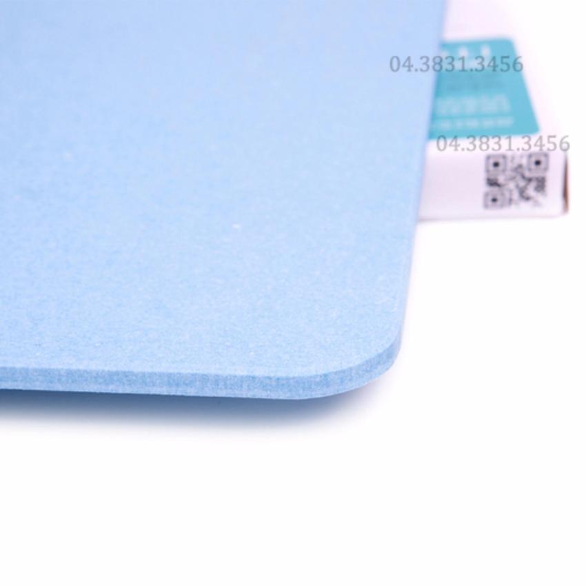 Thảm cứng siêu thấm hút nước cực nhanh 60x39x0.9cm (Xanh)