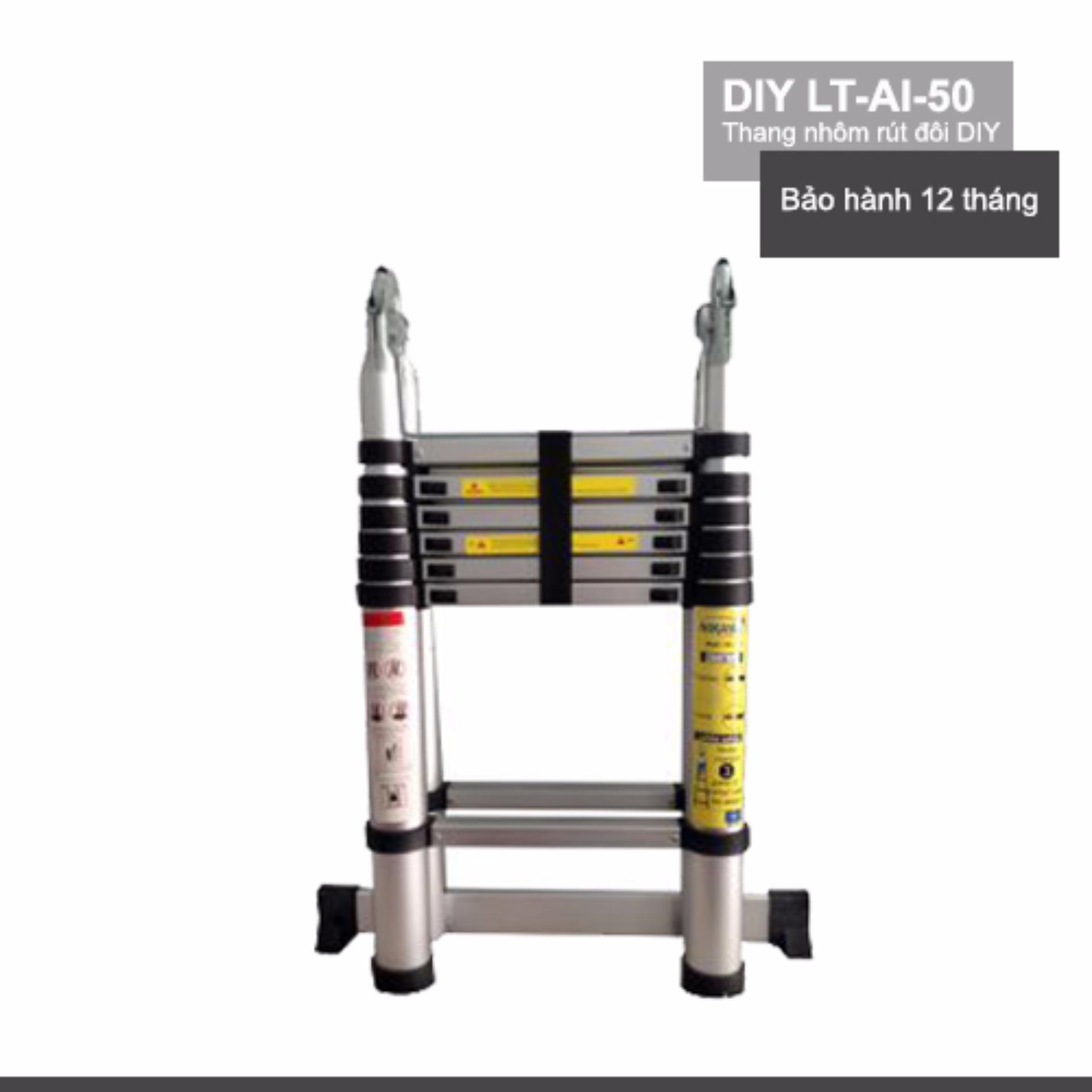 Thang nhôm rút đôi DIY LT-AI-50