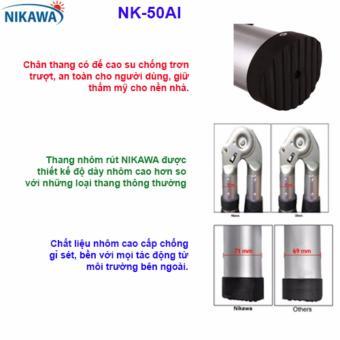Thang rút đôi nhôm Nikawa NK-50AI
