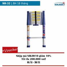 Thang rút nhôm Nikawa NK-32