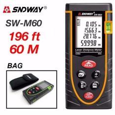 Thước đo laser SNDWAY SW-M60 phạm vi đo 60m
