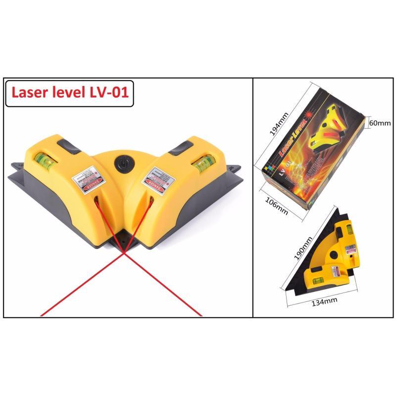 Thước ke góc vuông bằng 2 tia laser vuông gócLaser level LV-01