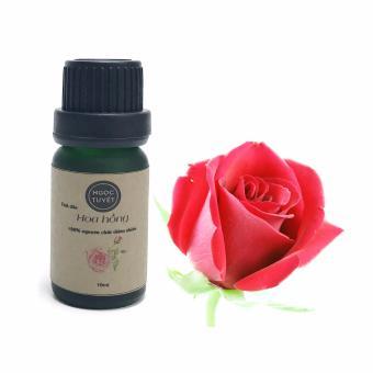 Tinh dầu hoa hồng nguyên chất Ngọc Tuyết 10ml thơm nồng quyến rũ