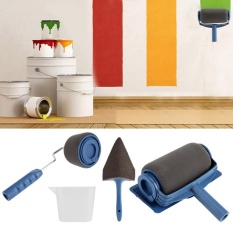TMISHION 5pcs / set Innovative Paint Roller Household Room Wall Painting Brush Kit - intl