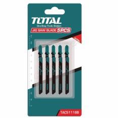 Total - Bộ 5 lưỡi cưa lọng cho kim loại TAC51118B