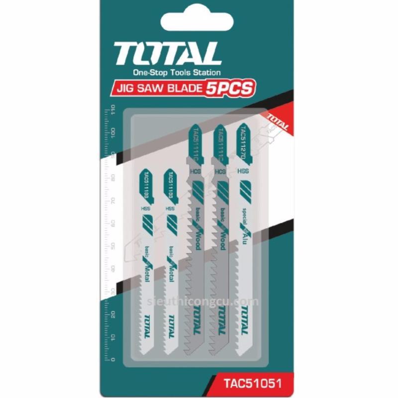 Total - Bộ 5 lưỡi cưa lọng đa năng TAC51051