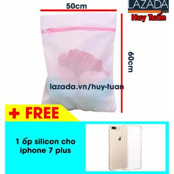 Túi giặt vuông cho máy giặt cỡ lớn 50x60cm + Tặng 1 ốp silicon iphone 7 plus - 8197535 , HU276HLAA4Z4W3VNAMZ-9169913 , 224_HU276HLAA4Z4W3VNAMZ-9169913 , 32000 , Tui-giat-vuong-cho-may-giat-co-lon-50x60cm-Tang-1-op-silicon-iphone-7-plus-224_HU276HLAA4Z4W3VNAMZ-9169913 , lazada.vn , Túi giặt vuông cho máy giặt cỡ lớn 50x60cm + Tặ