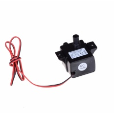 Ultra-quiet DC12V 4.2W Micro Brushless Water Oil Pump Waterproof Submersible - intl