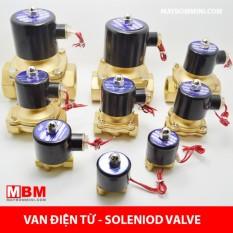 Van khóa mở nước bằng điện từ 220V 2W-025-08