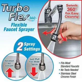 vòi xịt tăng áp tại vòi TURBO FLEX 360