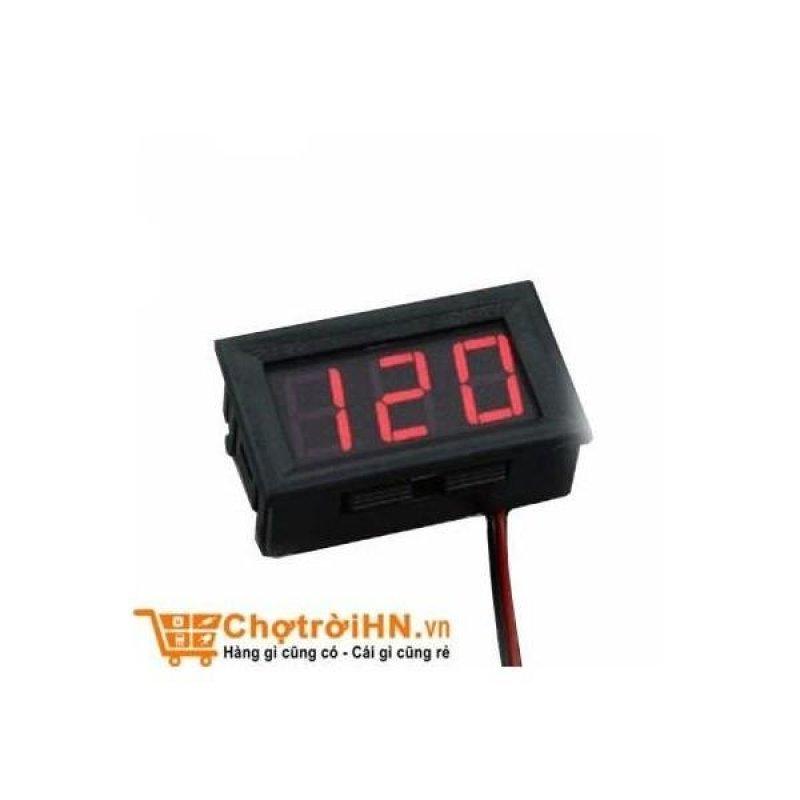 Bảng giá Mua Vôn Kế Điện Tử 0.56 inch - Đỏ 5-120VDC