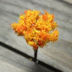 Xmas Sakura Tree Miniature Garden Decoration Pots Fairy Garden Ornament Decor #01 - intl