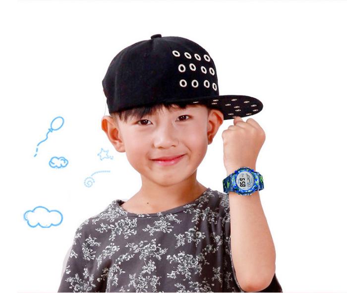 [MIỄN PHÍ GIAO HÀNG] Đồng hồ trẻ em đa chức năng kết hợp hiệu ứng đèn Led chính hãng Coobos, chống trầy xước, chống nước tốt, bảo hành 2 năm 10
