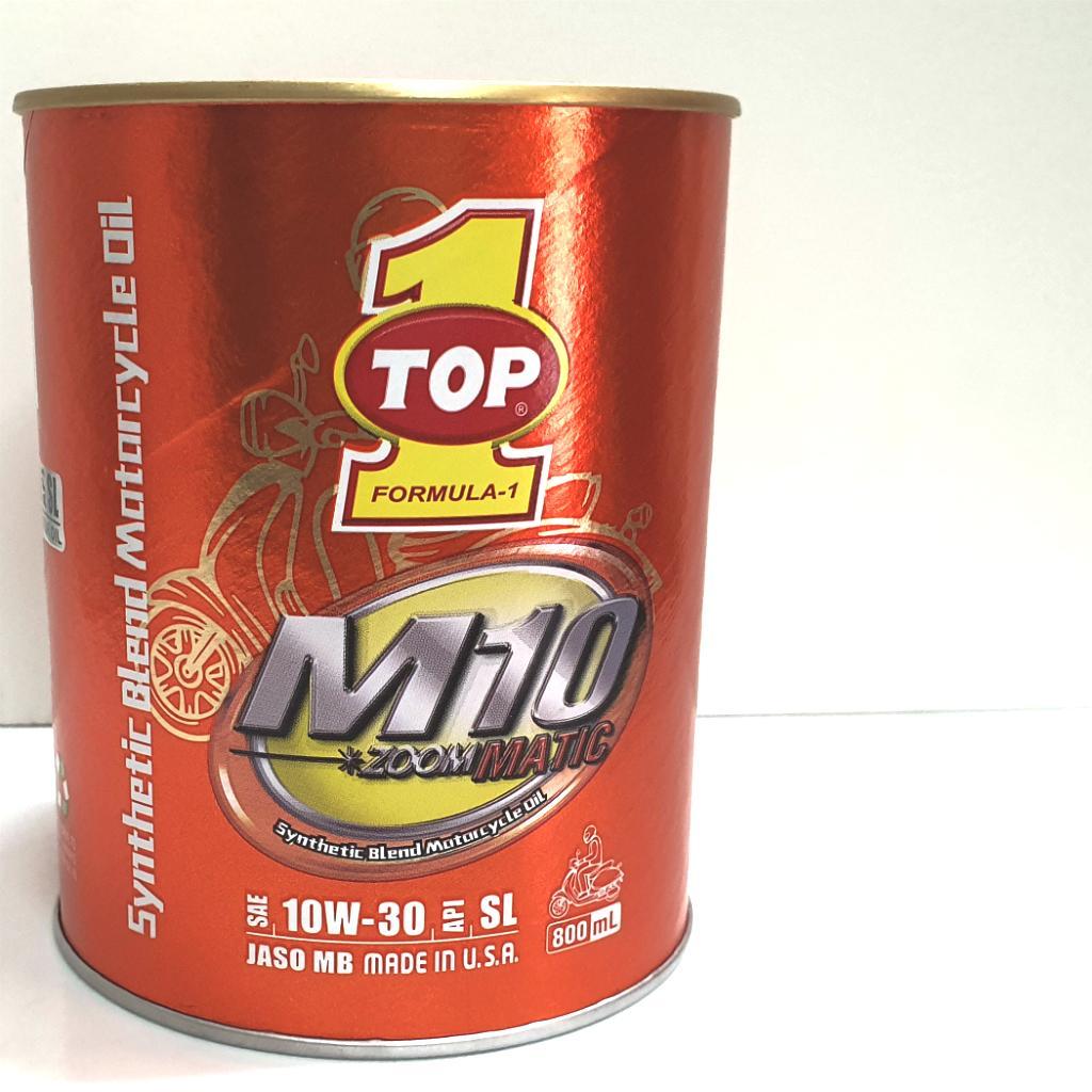 Nhớt xe tay ga Top1 M10 Matic 10w30 800ML