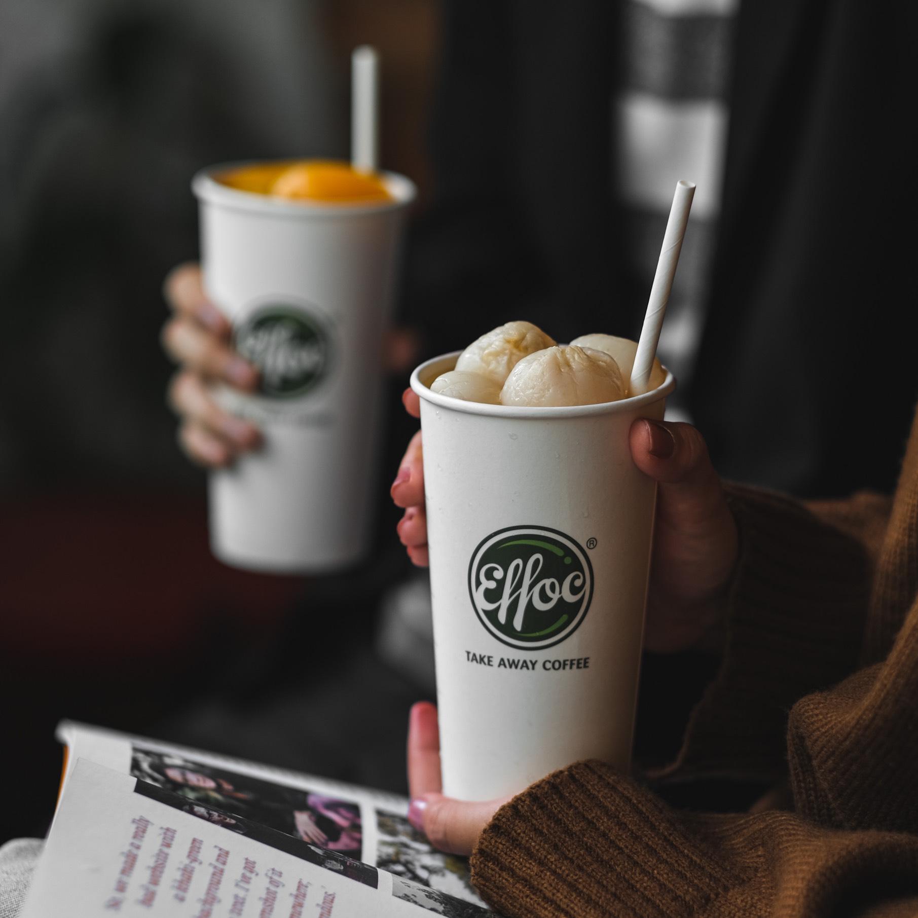 [HCM] EFFOC COFFEE - Giao hàng tận nơi - Evoucher giảm 30% toàn bộ menu khi mua tại 04 chi nhánh