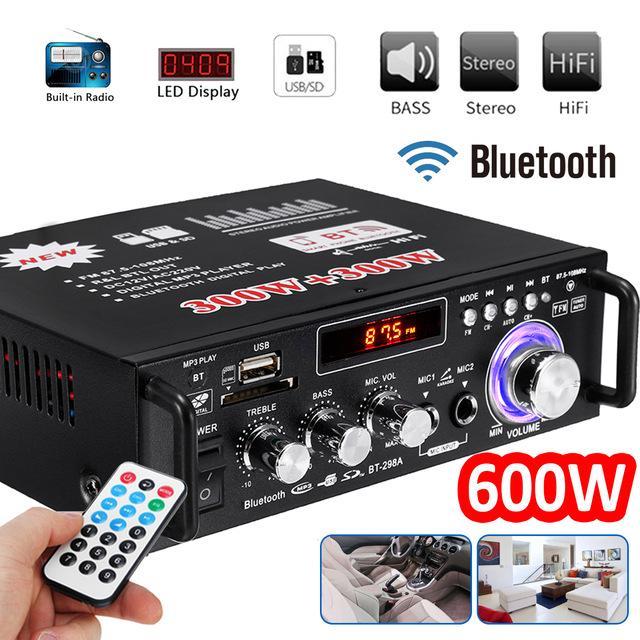 Amply Bluetooth Mini, Bán Amply karaoke Bluetooth, Bán Amply Karaoke Cực Hay,  Amply bluetooth Tely-BlJ253 Hàng Cao Cấp, Loại Tốt, Bảo Hành 1 Đổi 1