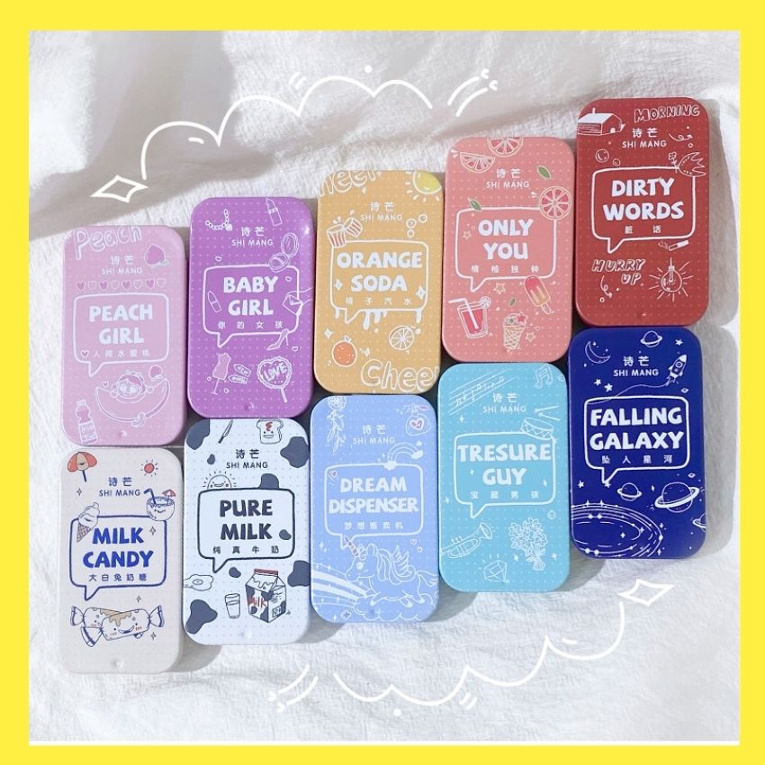Hình ảnh Nước Hoa Khô Dạng Sáp, Nước Hoa Shi Mang Hộp Nhỏ Xinh Xắn 10 mùi hương dịu ngọt cho bạn nữ ngày hè (Nước hoa khô Simang) dq6