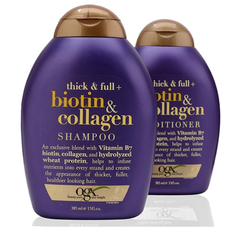 dầu gội biotin collagen - gội biotin - dầu gội biotin tím 385ml