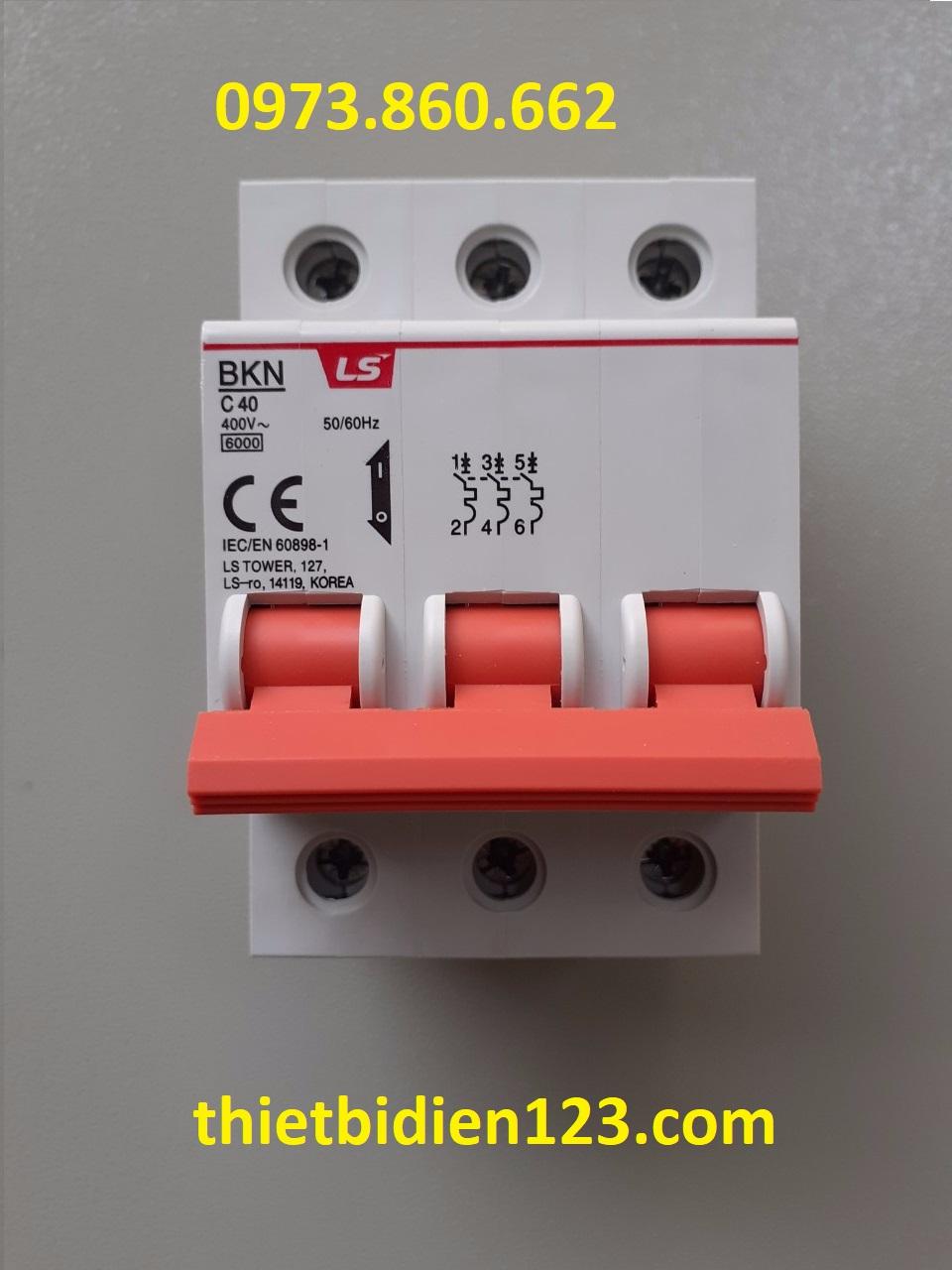 Aptomat LS MCB 3P 16A~63A