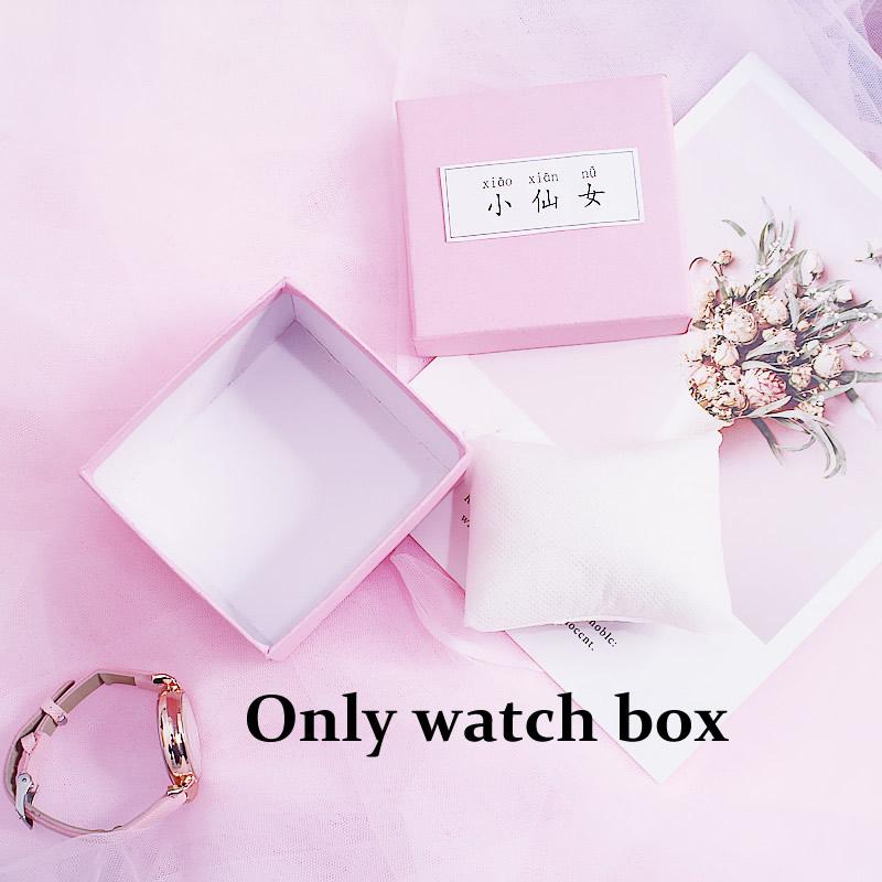 [Hot Bán] Eooshop Tiên hồng Gift Box trí Box Bracelet Box Xem Box Birthday Gift Box 2021 New 8