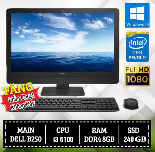 [HCM]All IN ONE DELL 3050 (I3 6100/DDR4 8GB)