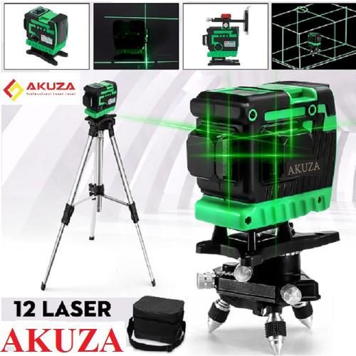 Máy cân bằng laze xanh 12 tia Akuza - máy cân mực 12 tia akuza cam kết hàng đúng mô tả chất lượng đảm bảo an toàn đến sức khỏe người sử dụng đa dạng mẫu mã