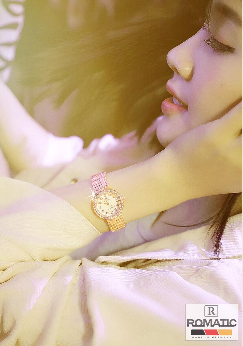 Đồng hồ nữ ROMATIC Mặt Xà Cừ Nhỏ Xinh Sang Trọng - Máy Nhật cao cấp - Tặng Kèm Pin ĐH Dự Phòng 4