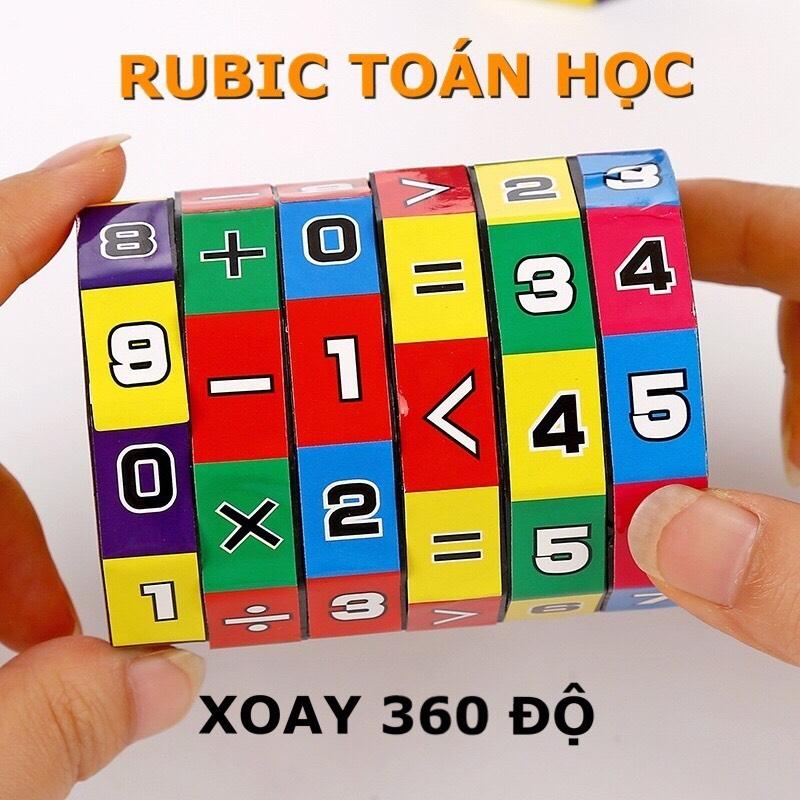 Đồ chơi trẻ em rubic toán học, phát triển khả năng tính toán, kích thích tư duy trí não phát triển cho bé từ 4 đến 8 tuổi 1