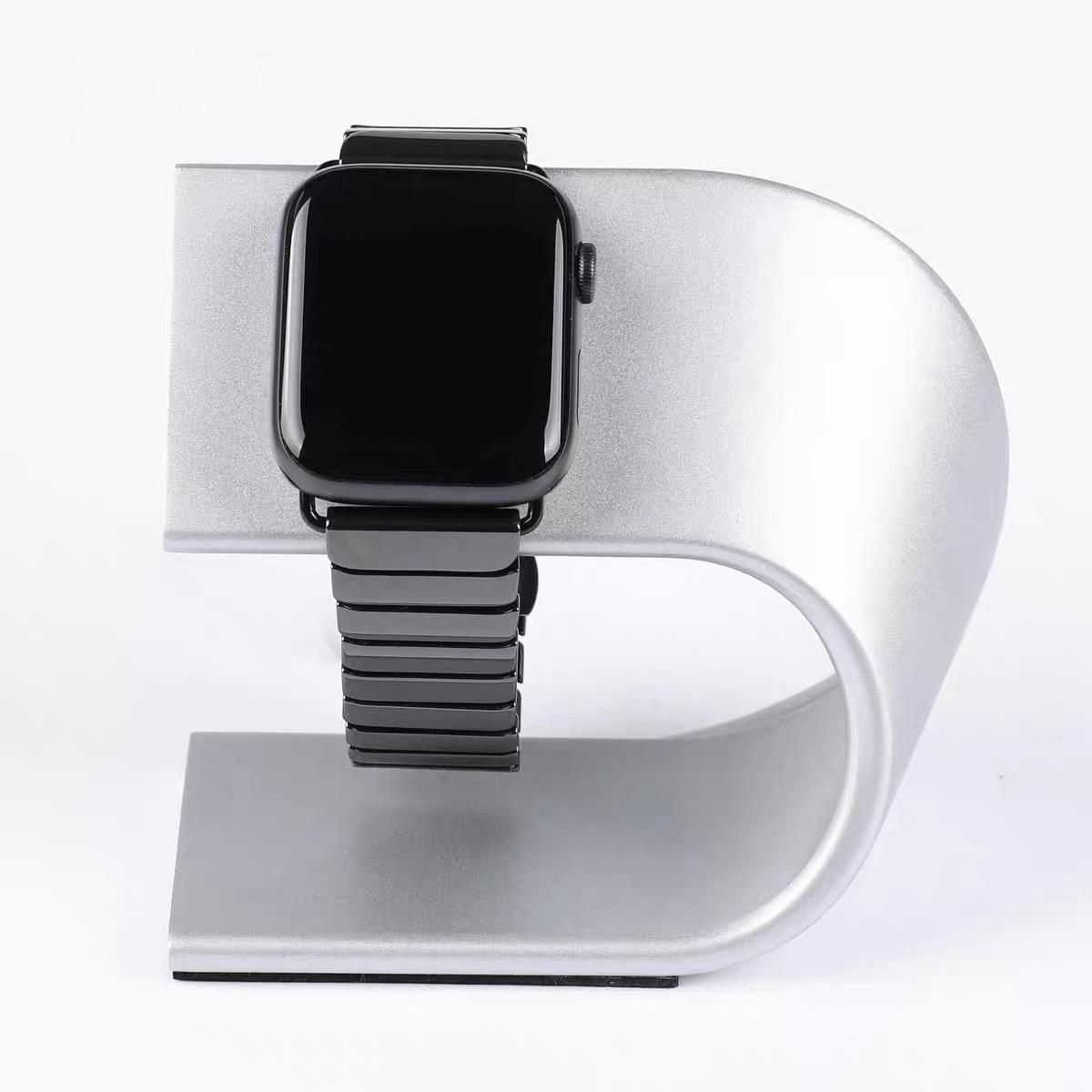 Đế dock sạc không dây Apple Watch Nhôm nguyên khối kiêm Giá đỡ đồng hồ  thông minh S3 - Adapter Sạc - Cáp Sạc Cho Thiết Bị Đeo