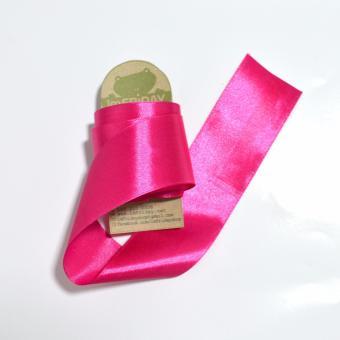 3m ruy băng lụa 4cm hồng đậm RB82