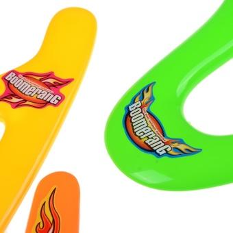 4pcs Lightweight Genuine Returning Dart Throwback Kids ColorfulBoomerang - intl