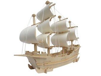 A 3D Puzzle Atlantic Sailing - intl