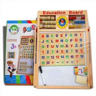 Bảng học chữ cái nam châm hai mặt cho bé