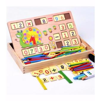 Bảng học đếm,que tính,đồng hồ và tập viết cho bé!